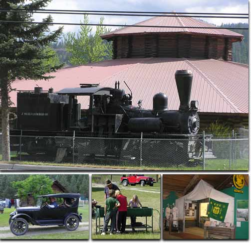 Libby Heritage Museum and Shay Locomotive